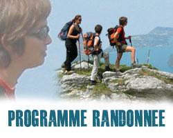 Programme randonnée